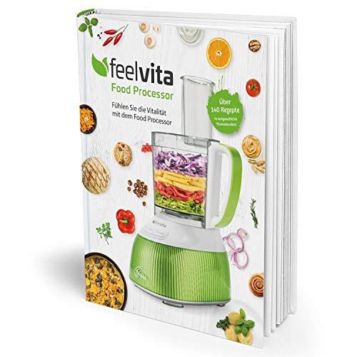 Genius Feelvita Food Processor Rezeptbuch Shales Gesundheit Gesundheit & Vitalität Ernährung Fitness - Ideal für Ihre Feelvita-Produkte