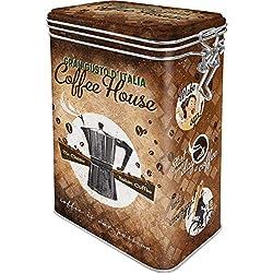 Caja café retro