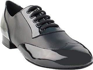 "Men Ballroom Dance Shoes Standard & Smooth Tango Wedding Salsa Shoe CM100101EB-Very Fine 1"" [Bundle of 5]"