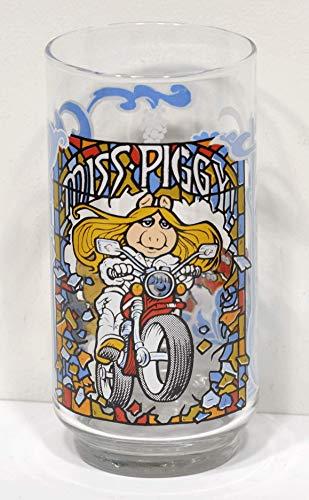 McDonald's Great Muppet Caper Glass (1981 / Miss Piggy / 5 1/2')