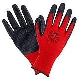 Urgent 1003-912Pairs of Work Gloves EN420Cat I 1003(9) Red/Black
