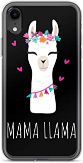 Mr. Pap International Mama Llama Plastic Black Phone Case for iPhone XR