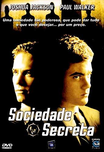 DVD Sociedade Secreta Joshua Jackson
