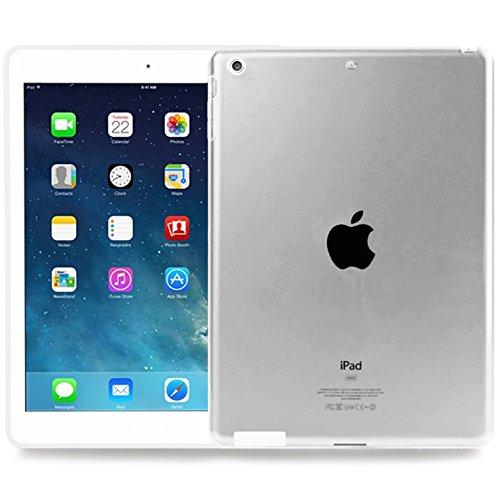 Okuli Hülle Kompatibel mit Apple iPad 2, iPad 3, iPad 4 - Transparent Silikon Cover Hülle Schutzhülle in Klar