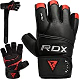 RDX - Sports Gym Glove Leather