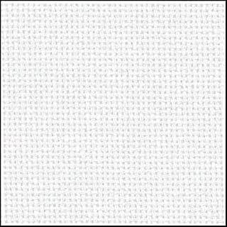 Zweigart 25Ct Lugana Evenweave-1 Yd - White