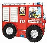 Trötsch Hier kommt die Feuerwehr mit Rädern Spielbuch Räderbuch Beschäftigungsbuch: Spielbuch mit Geschichten der Feuerwehr (Beschäftigungsbücher: Beschäftigung)
