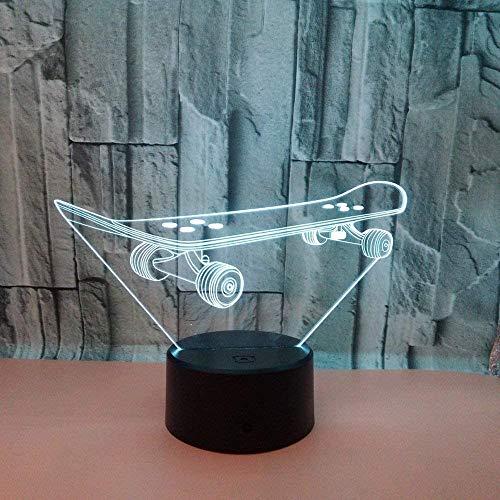 Scooter 3D Nachtlicht Colourful Touch Fernbedienung LED 3D USB Lampe Power LED Nachtlicht Luminaria De Mesa 3D Leuchten