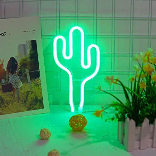 TL-buis LOVE / sterren / wolken / maan / cacteen / lippen / flamingo / LED-lampen / nachtlicht / bar / slaapkamer plat decoratie