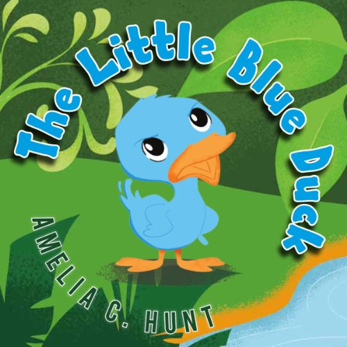 The Little Blue Duck audiobook cover art