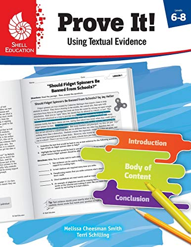 Compare Textbook Prices for Prove It! Using Textual Evidence, Levels 6-8 1 Edition ISBN 9781425817015 by Melissa Cheesman Smith,Terri Schilling