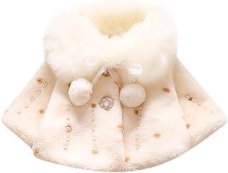 767553ef97e Kehen Infant Baby Toddler Girls Faux Fur Long Sleeve Coat Wedding  Bridesmaid Birthday Party Jacket Pearl