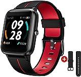 UXD Reloj Inteligente con GPS,Smart Watch Hombre Mujer niños con Pulsómetro,Pulsera de Actividad con Impermeable 5ATM y Pronóstico del Tiempo,1.3' Pantalla Táctil Reloj Deportivo para Android iOS