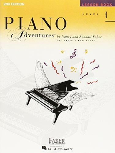 Level 4 - Lesson Book: Piano Adventures