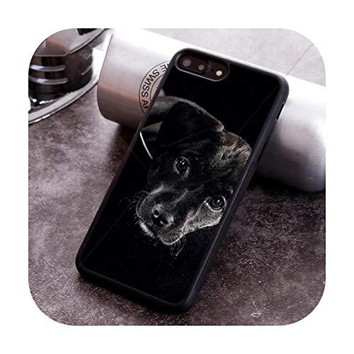 Nine-C Labrador Mum Golden Retriever - Carcasa para iPhone X XR XS 11 Pro MAX 5 6 6S 7 8 Plus Samsung Galaxy S7edge S8 S9 S10