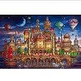 1000 Unids Rompecabezas Para Adultos Niños Adultos Descompresión Educativa Decoración Juguete Castillo De Magia