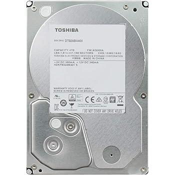 東芝 DT02ABA400-2YW 4TB アマゾン限定モデル 2年保証 SATA 6Gbps対応3.5型内蔵ハードディスク
