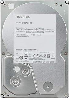 東芝 内蔵HDD 3.5インチ 4TB 省電力モデル DT02ABA400-2YW 【国内正規代理店品】 2年保証 SATA 6Gbps対応