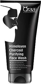 Qraa Himalayan Charcoal Purifying Face Wash - 100g