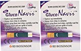 Gluco Navii Blood Glucose Test Strips - 50 Count - Pack of 2
