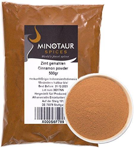 Minotaur Spices | Cannella macinata, Cannella Dolce in Polvere |2 X 500g (1 kg)