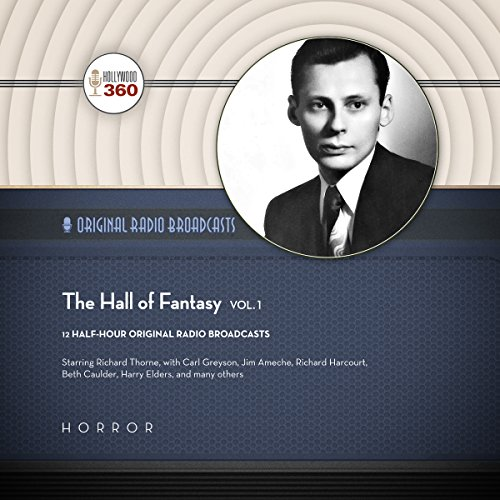 The Hall of Fantasy, Vol. 1 audiobook cover art