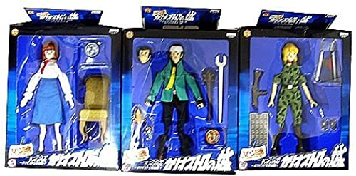 Castle Hen III 7 inches Figure DX  Cagliostro Lupin all three set (japan import)