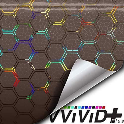 "Bio Pulse HEX+ Smoke Air-tint headlight taillight tint extra large roll (12"" x 60"")"
