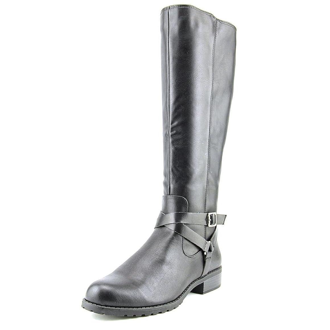 雪の珍しいいまStyle & Co. Womens BRIGYTE Almond Toe Riding Boots