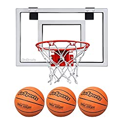 cheap Go Sports Basketball Door Ring with 3 Premium Balls and Pump – Standard Size