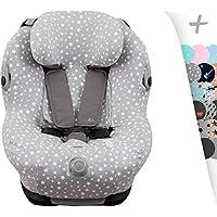 JANABEBE Funda para Maxi Cosi Bébé Confort Opal (White Star)