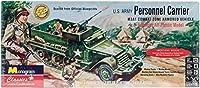 アメリカレベル 1/35 アメリカ陸軍 パーソナルキャリア プラモデル 0035