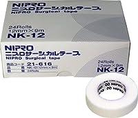 ニプロ サージカルテープ NK-12 12mm×9m 業務用24巻入「2点セット」