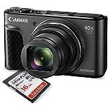 Canon PowerShot SX730 HS Digital Camera (Black) W/ 16GB
