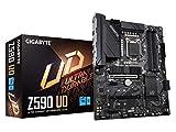 GIGABYTE Z590 UD (LGA 1200/ Intel Z590/ ATX/ Triple M.2/ PCIe 4.0/ USB 3.2 Gen 2/ 2.5GbE LAN/ Motherboard)