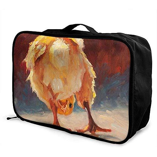 Reistas Cheri Christensen Archief Draagbare Opvouwbare Tote Opslag Tassen Aangepaste Trolley Handvat Bagage Bag