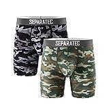Separatec Men's Underwear Dual Pouch Active...