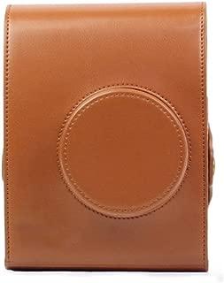 Insho Retro PU Leather Lomo Instant Camera Case Bag for Lomo Automat Camera - Brown