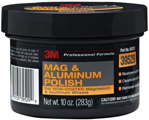 3M Mag and Aluminum Polish, 39529, 10 oz , White