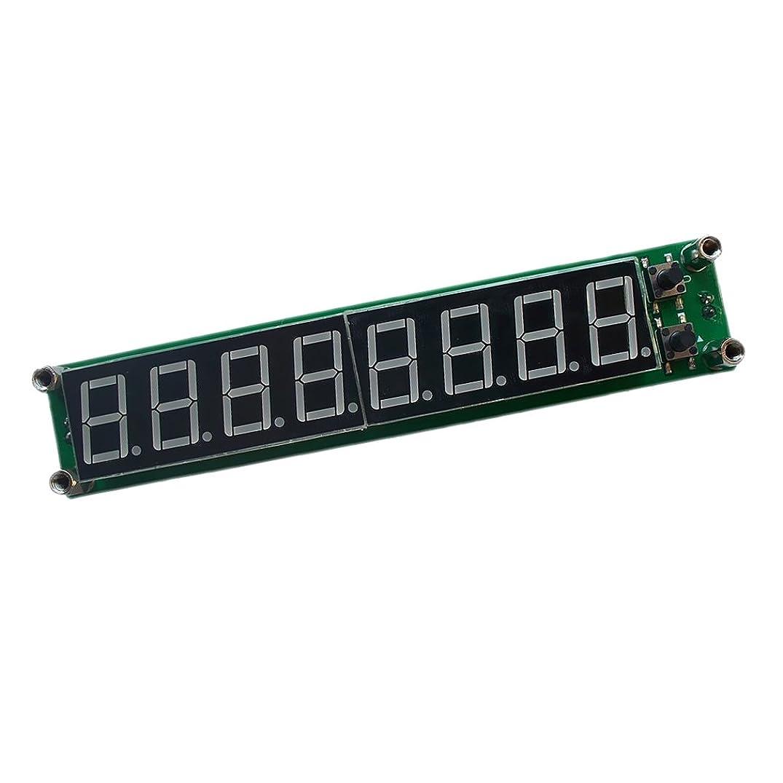 失望させる取得比較的全3色 0.1MHz-1000MHz 8LED RF 信号 周波数 カウンター サーモメーター テスター - 青