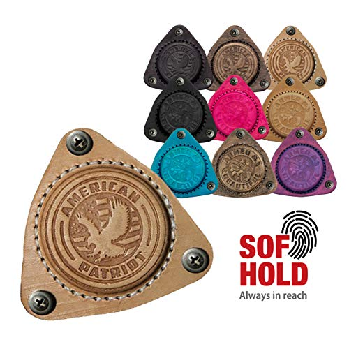 SofHold Gun Magnet Mount Natural- Magnetic Holder for Car, Home and Play. Made in The USA