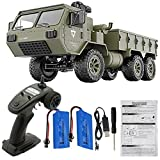 Alician Fayee FY004A 1/16 2.4G 6WD Rc Car Proportional Control US Army Military Truck RTR Model Toys with Camera+2 Batteries 1:16