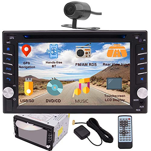 EINCAR Double DIN Car Stereo GPS Navigation Car DVD CD