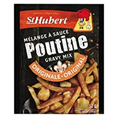 ORIGINAL RECIPE - this is the original recipe from the mythical St Hubert Rotisserie chain of restuarants AUTHENTC TASTE - if you are looking for the true authentic poutine gravy taste this is it QUANTITY - 1 packet makes approximately 4 poutines NEW...