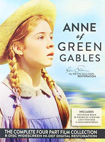 Anne of Green Gables: The Complete Four-Part Collection (packaging may vary)