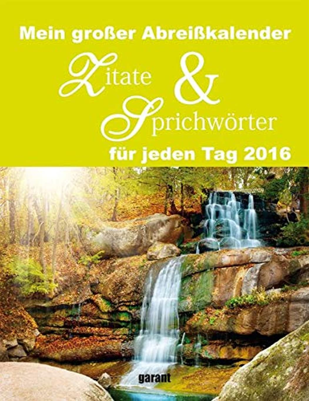 ダーツドメイン困惑するZitate & Sprichwoerter 2016 Abreisskalender