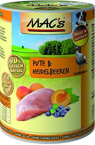 MACs | Pute & Heidelbeeren | 6 x 400 g