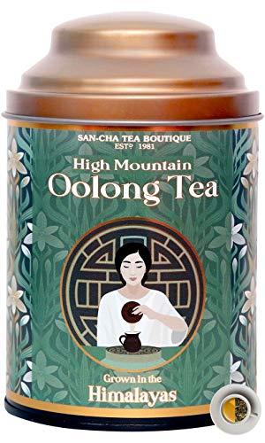 Sancha Tea Boutique Oolong Tea|High Mountain Oolong|Loose Leaf Tea (150Cups)|Himalayan Oolong Tea|100% Natural Tea|Slimming Tea