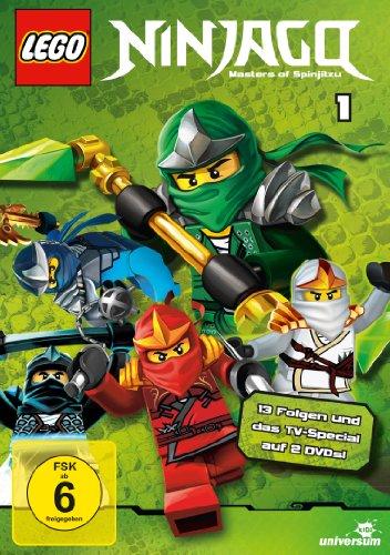 Lego Ninjago: Meister des Spinjitzu 1 [2 DVDs]