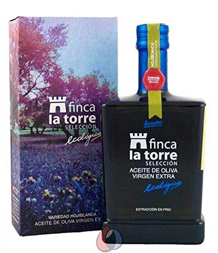 Finca La Torre Selección - Natives Olivenöl Extra Hojiblanca BIO - 0,5 l Flasche (1 x 500 ml)